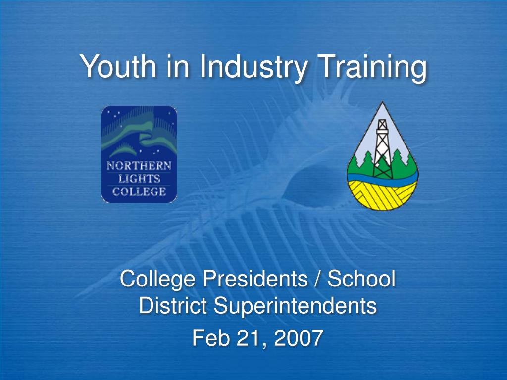 youth in industry training l.