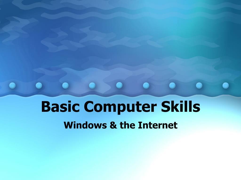 Computer Basics - PowerPoint PPT Presentation