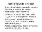 technology and sex appeal