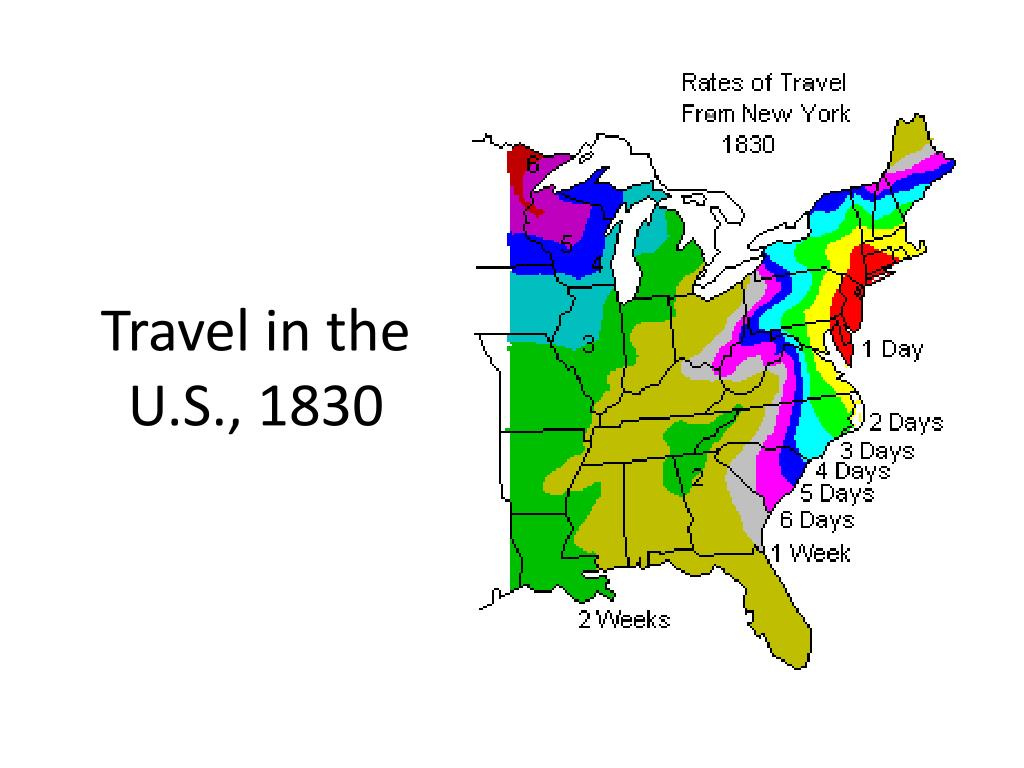 Travel in the U.S., 1830