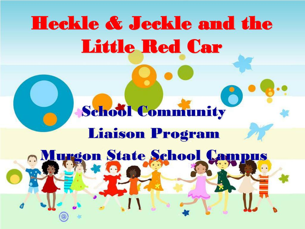 heckle jeckle and the little red car l.