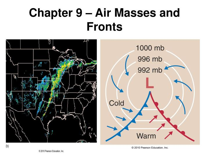 chapter 9 air masses and fronts n.