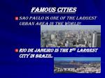 famous cities