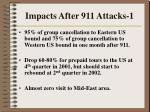 impacts after 911 attacks 1
