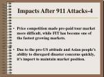impacts after 911 attacks 4