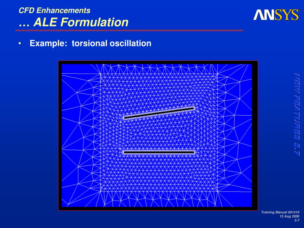 PPT - 5  CFD Enhancements PowerPoint Presentation - ID:668014