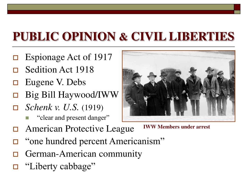 us sedition act 1918