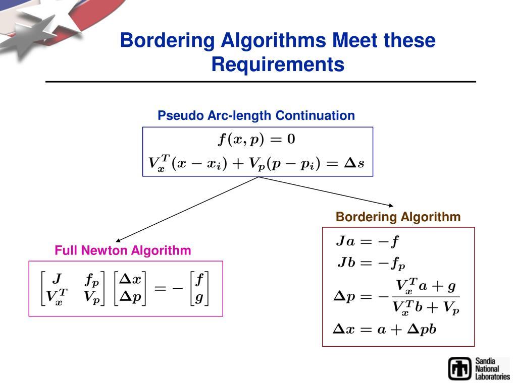 Pseudo Arc-length Continuation