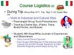 course logistics 2