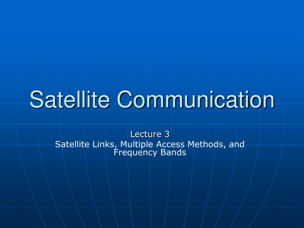 satellite communication l.