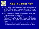 gse in district 7450