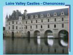 loire valley castles chenonceau
