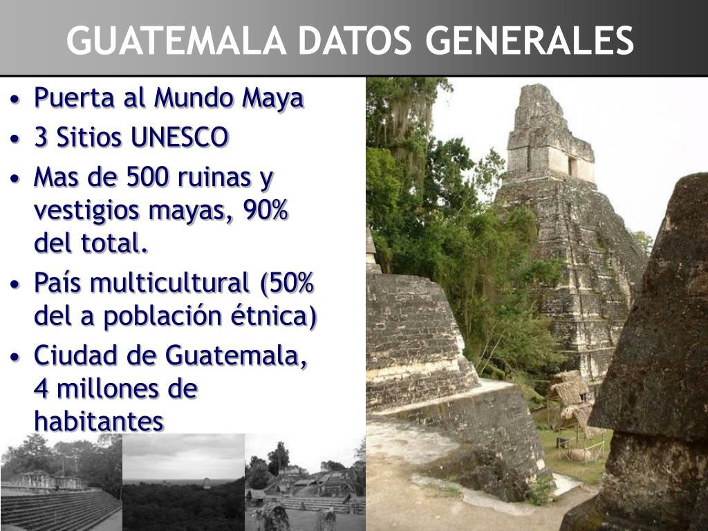 GUATEMALA DATOS GENERALES