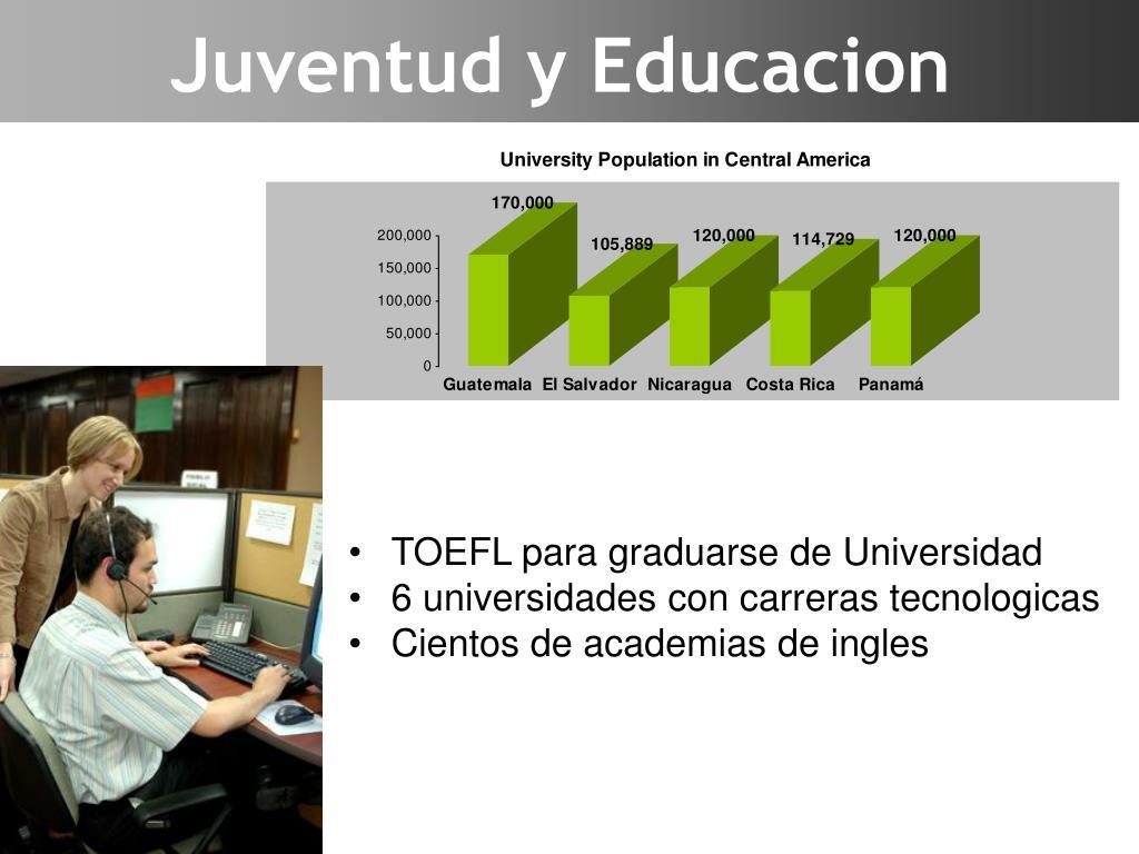 Juventud y Educacion