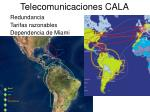 telecomunicaciones cala
