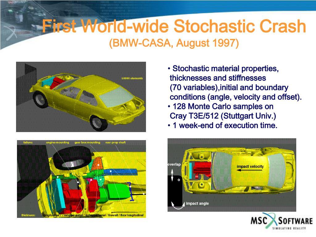 First World-wide Stochastic Crash