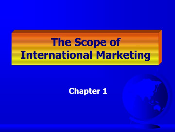 The Scope of