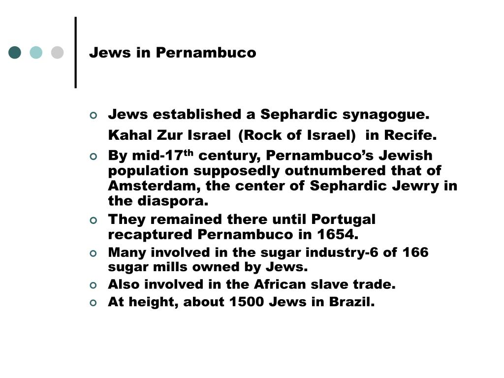 Jews in Pernambuco