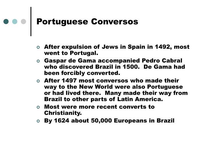 Portuguese conversos