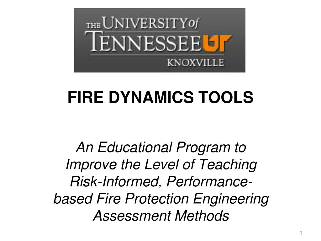 fire dynamics tools l.