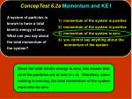 conceptest 6 2a momentum and ke i4