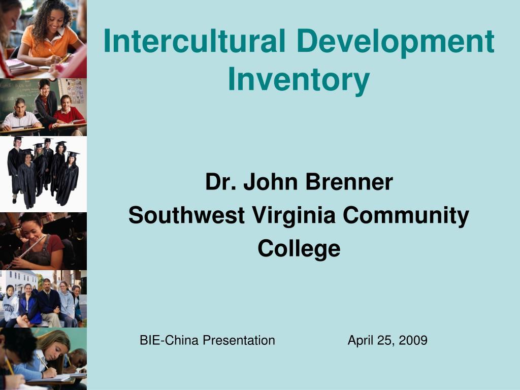 intercultural development inventory l.