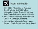 travel information6