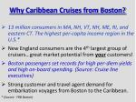 why caribbean cruises from boston