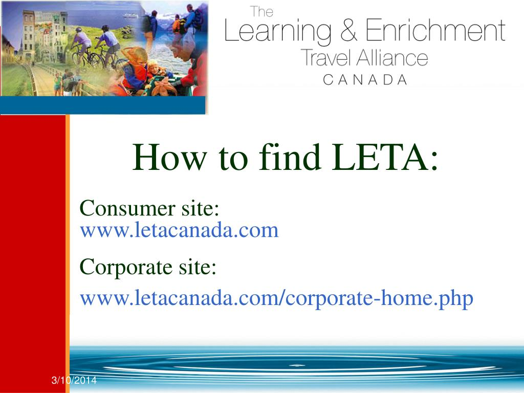 How to find LETA: