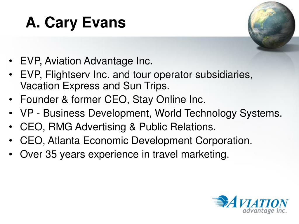 A. Cary Evans