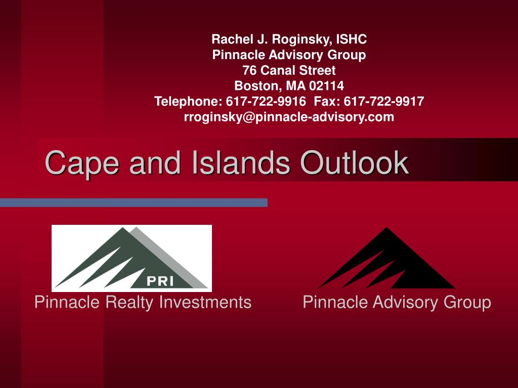 cape and islands outlook l.