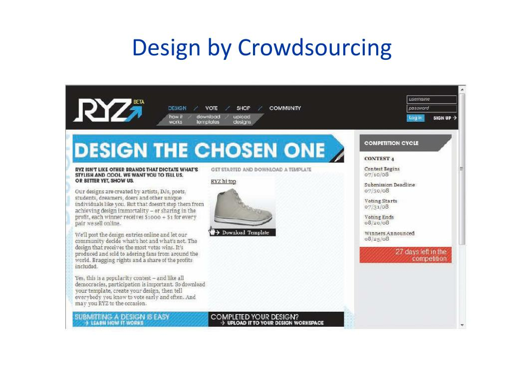 Design by Crowdsourcing
