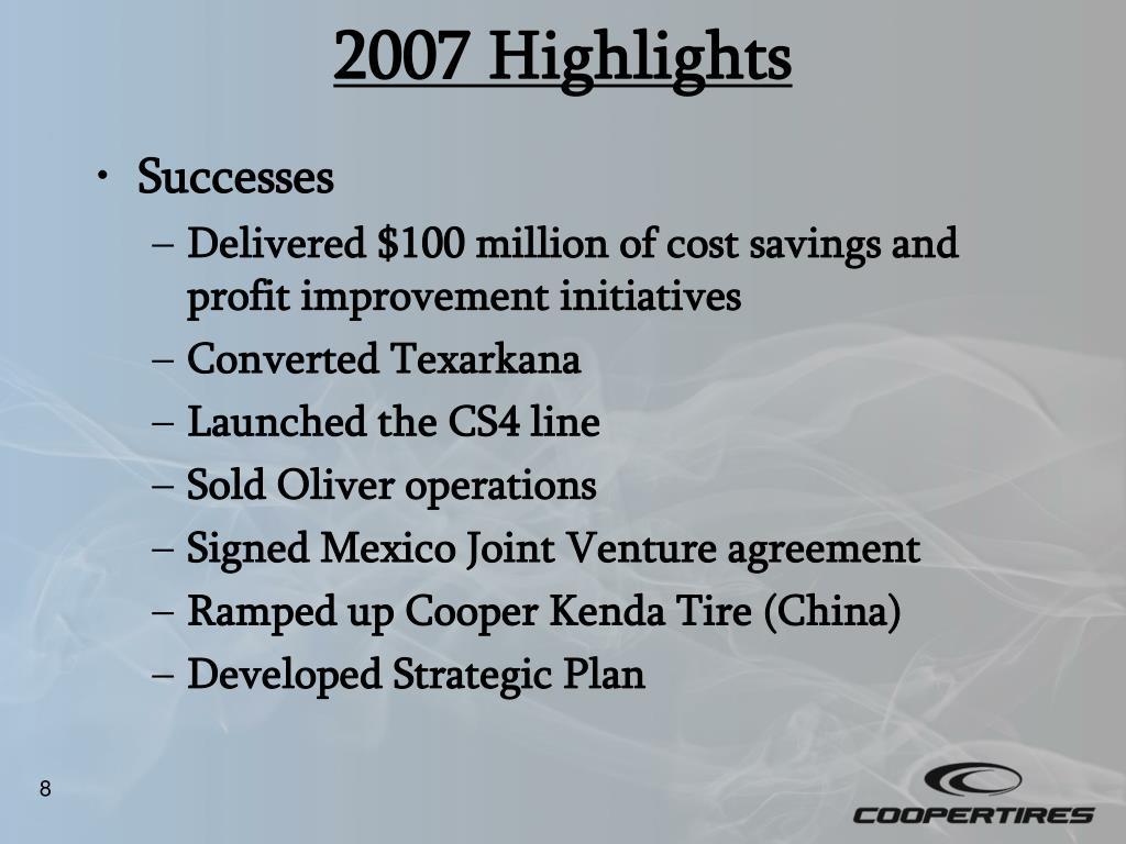 2007 Highlights