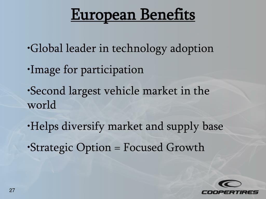 European Benefits
