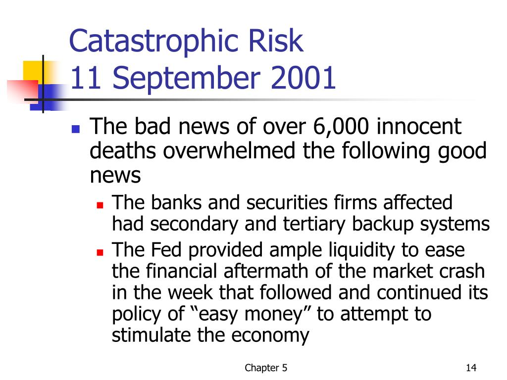 Catastrophic Risk