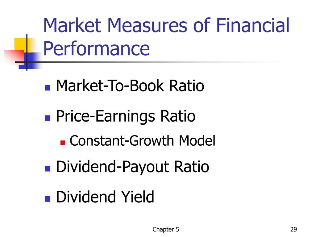 Market Measures of Financial Performance