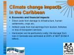 climate change impacts in the caribbean10