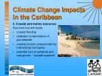 climate change impacts in the caribbean12