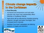 climate change impacts in the caribbean8