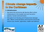 climate change impacts in the caribbean9