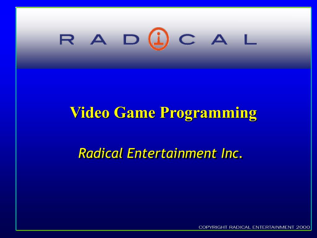 video game programming l.
