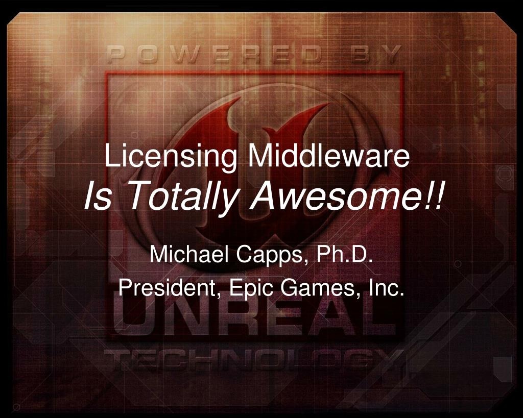 Licensing Middleware