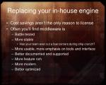 replacing your in house engine