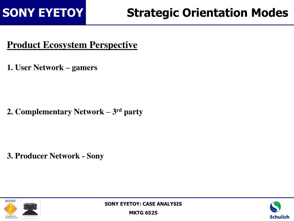 Strategic Orientation Modes