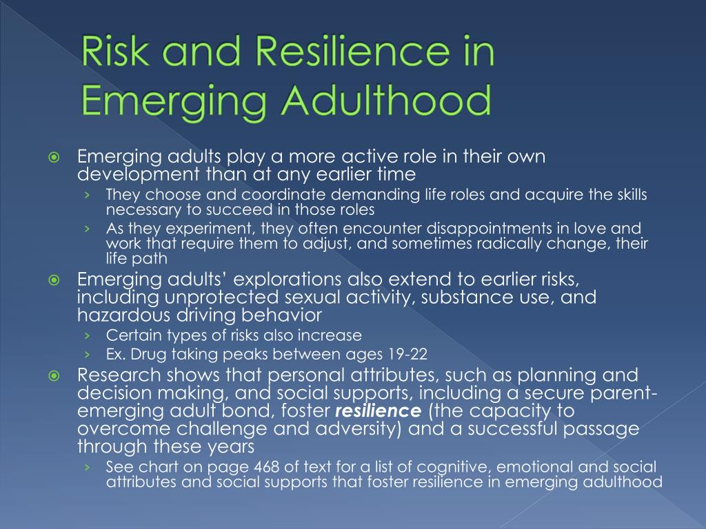 cognitive resilience in adulthood