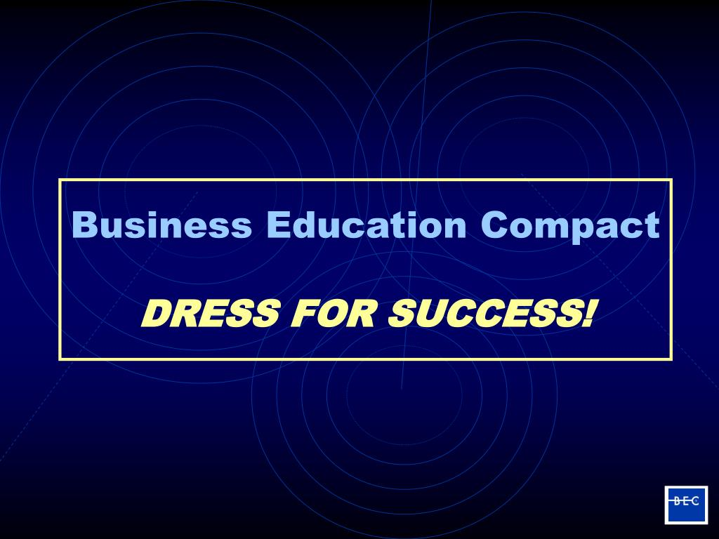 business education compact dress for success l.