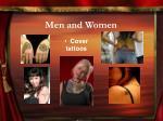 men and women6