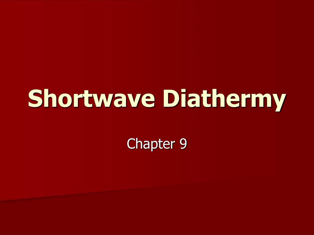 shortwave diathermy l.