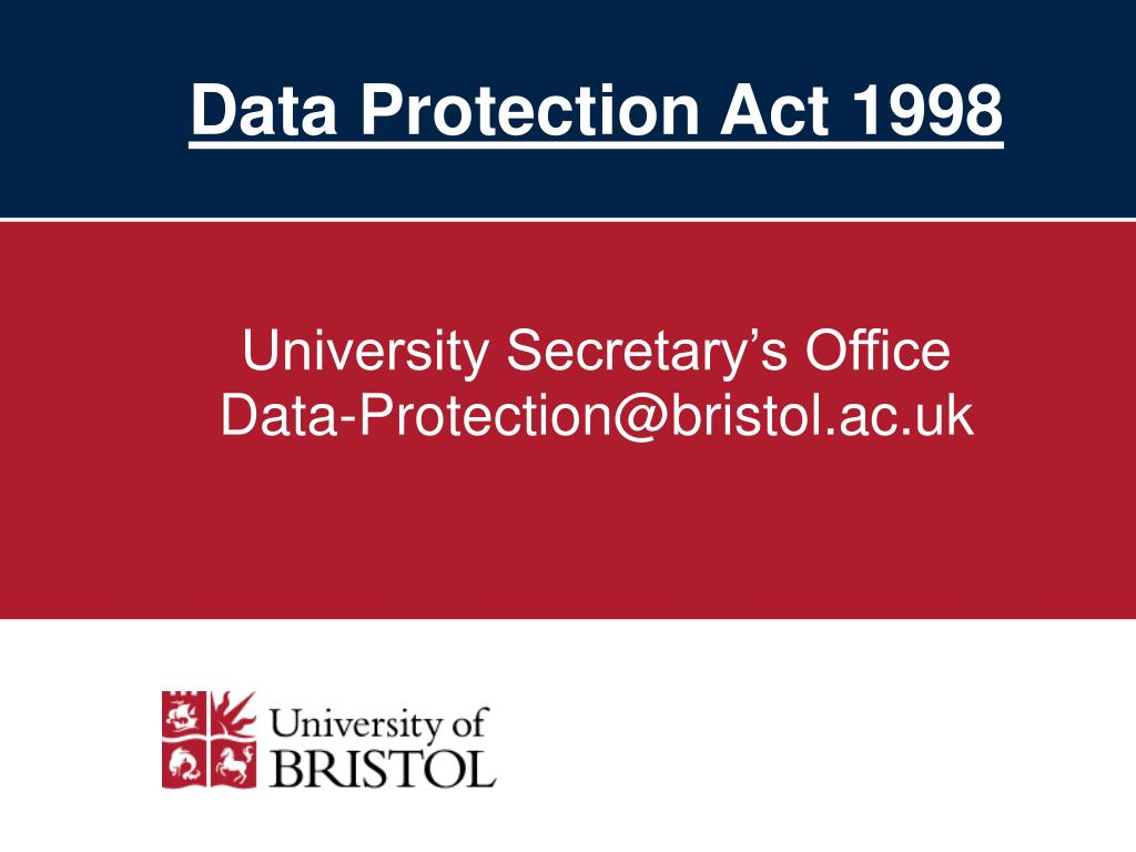 data protection act 1998 l.