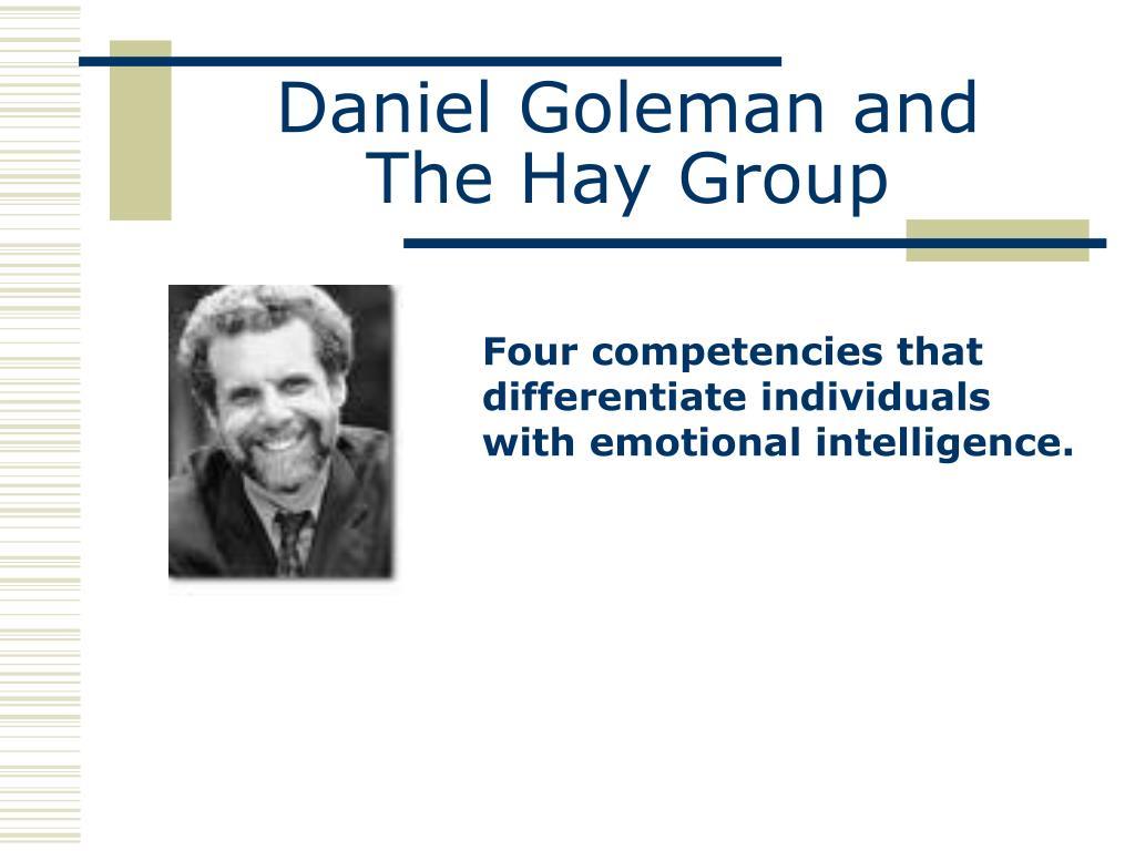 Daniel Goleman and